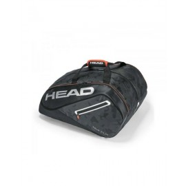 PALETERO HEAD TOUR TEAM PADEL MONSTERCOMBI NEGRO GRIS