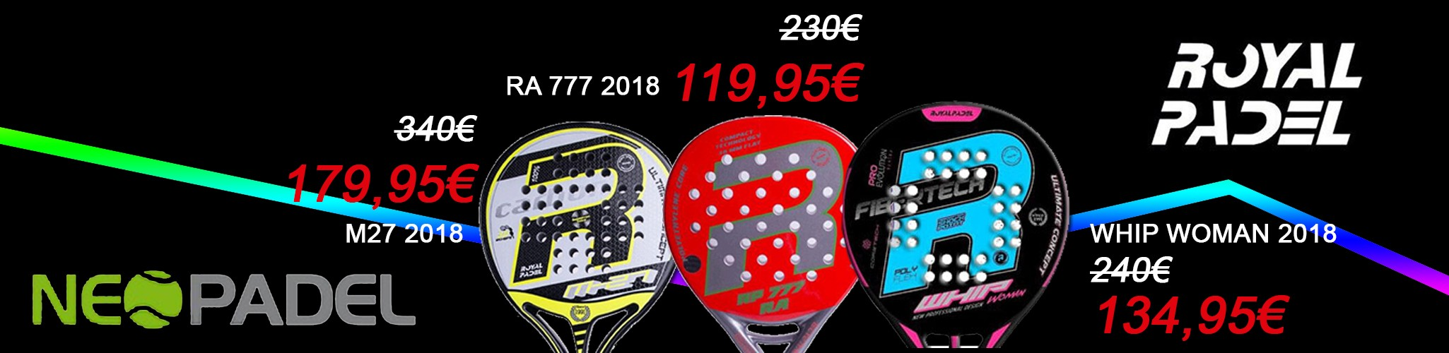 Black friday Royal padel 2